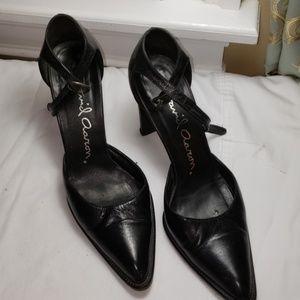 David Aaron 7 Black Heels
